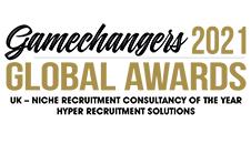 UK - Niche Recruitment Consultancy of the Year Winner 2021