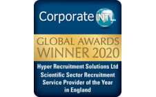 Scientific Sector Recruitment Provider of the Year 2020