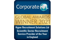 Scientific Sector Recruitment Provider of the Year 2021