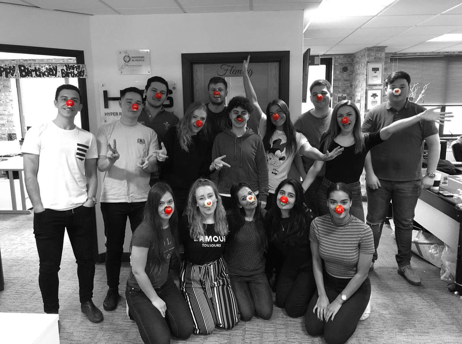 hrs red nose day